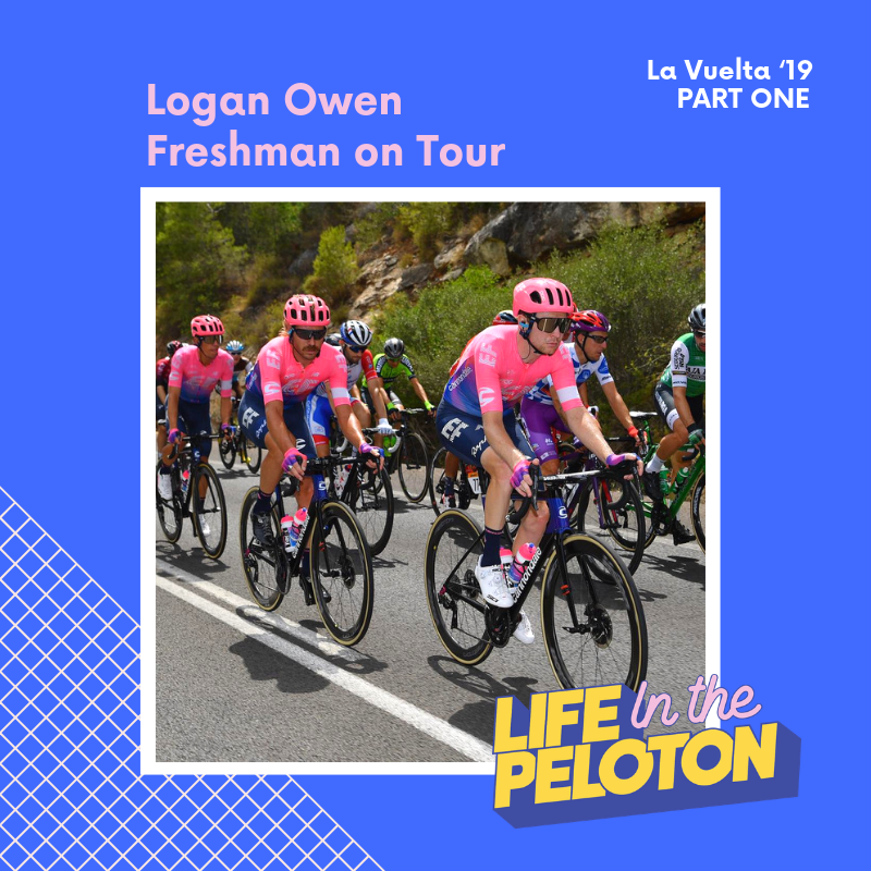 Logan Owen – Freshman on Tour – La Vuelta Part 1