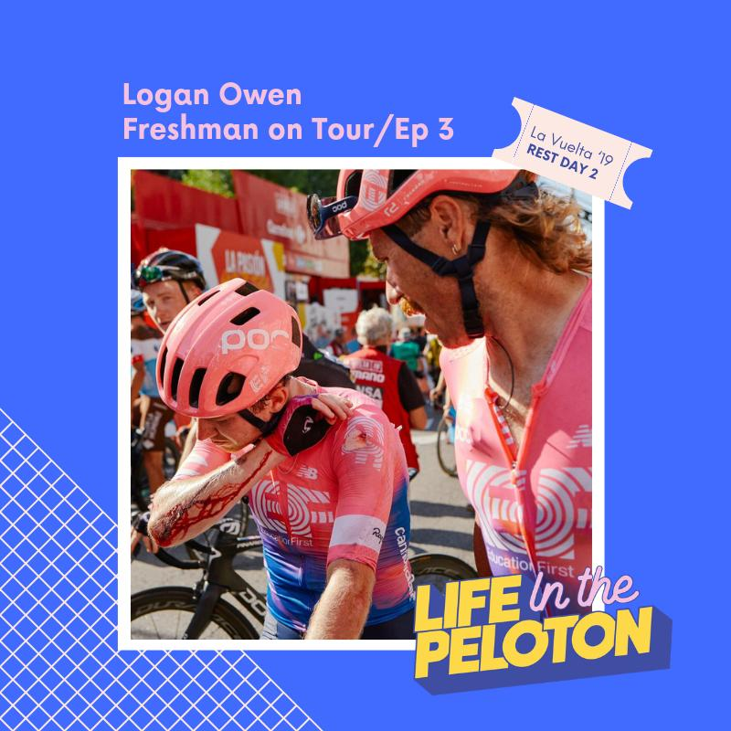 La Vuelta Part 3 – Logan Owen – Freshman on Tour